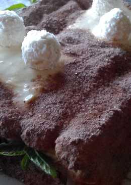 Торт без выпечки.Самый простой рецепт торта Тирамису