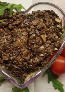 Икра грибная из сушеных грибов