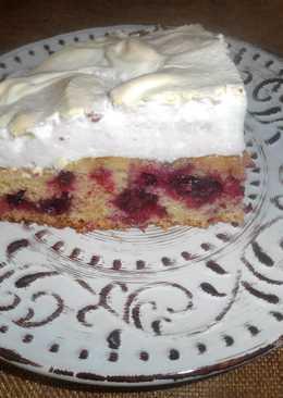 Изысканный ягодный пирог с безе
