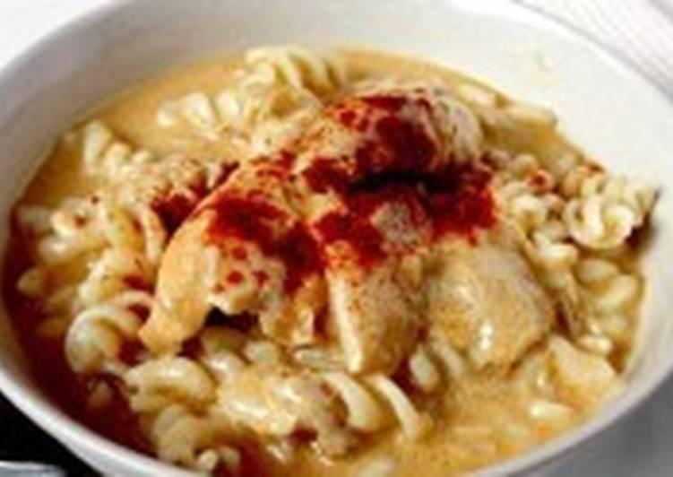 Курица в сливочном соусе с паприкой