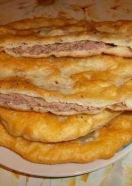 Хычины с мясом