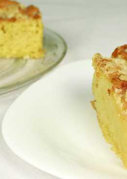 Сахарный дрожжевой пирог