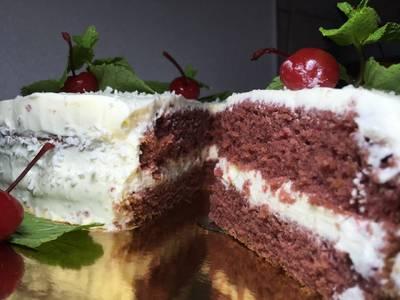 Торт «Красный бархат» ❤❤❤