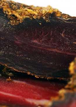 Новогодний Сыро-вяленый балык из свиной вырезки по-Киевски