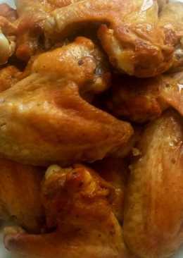 Вкусные крылышки в духовке, проще не бывает