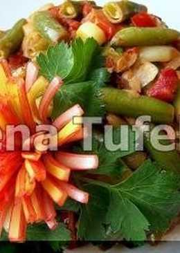 Теплый салат «Овощной микс»