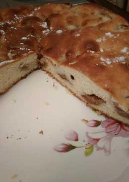 Пирог с яблоками по-домашнему