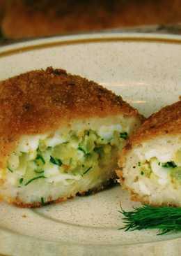 Рыбные ЗРАЗЫ (КОТЛЕТЫ) с хрустящей корочкой и вкусной начинкой
