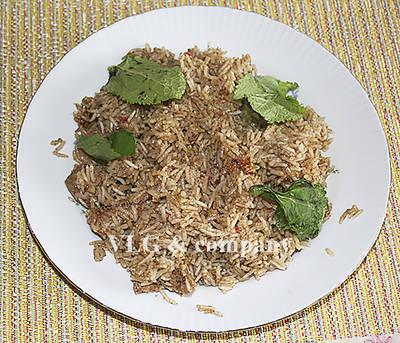 Бириани из курицы с рисом