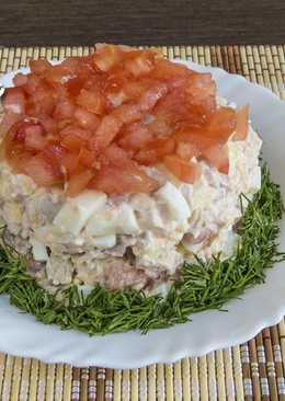 """Салат """"Нежность"""" - этот салат станет вашим любимым"""
