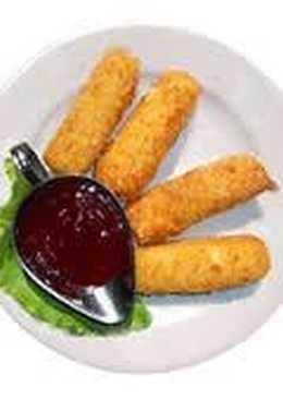 Сырные палочки с соусом Маринара