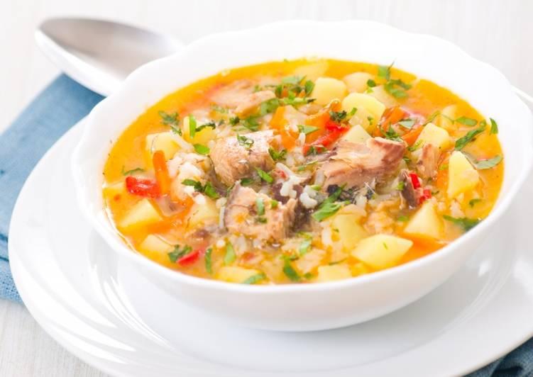 Суп из минтая – рецепт