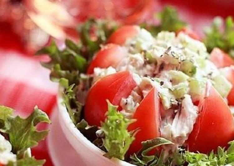 Праздничный салат с курицей «Шик» - рецепт с фото