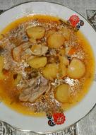 Соус из курицы с картошкой