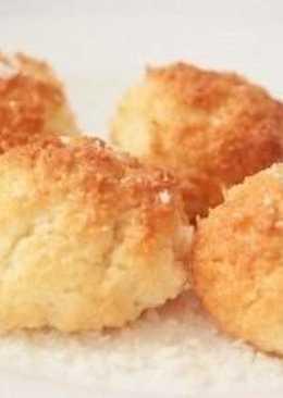 Вкусное кокосовое печенье за 15 минут