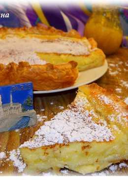 Французский лимонный тарт #чемпионатмира #франция