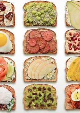 8 рецептов вкусных бутербродов