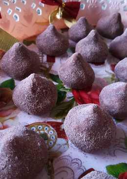 Трюфели - домашние конфеты к чаю на Новый год
