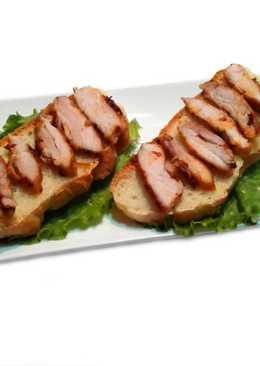 Курятина для бутербродов и салатов. Сочная курятина