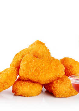 Куриные наггетсы (Чикен Макнаггетс) с сыром