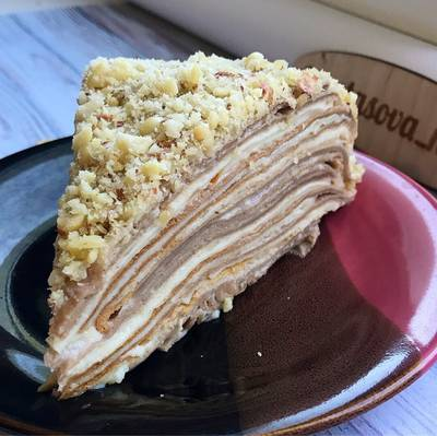 Торт «блинный Наполеон» #пп