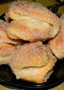 Сахарное печенье на твороге