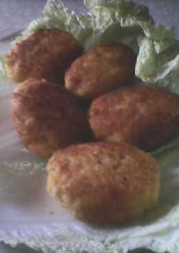 Рыбные биточки с тыквой и сыром