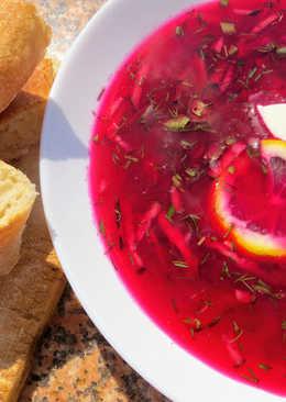 Свекольник (ХОЛОДНИК) или окрошка из свеклы. вкуснейший холодный суп