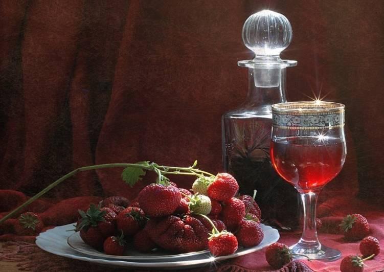 Вино из клубники в домашних условиях рецепт