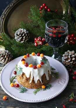 Рождественский пряный кекс