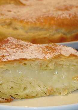ФЫТЫР - сладкий пирог с молочным кремом