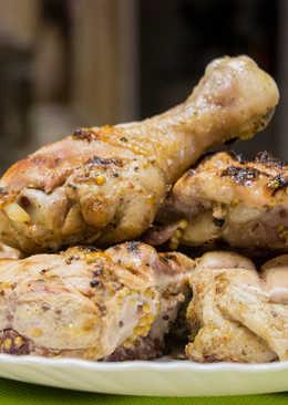 Медово-горчичный маринад для шашлыка из курицы