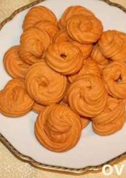 Постное печенье на томатной пасте на ваш вкус -солёное или сладкое