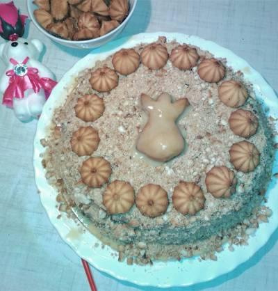 "Торт ""Медовик"" 🍰🎂 из 70-х #спас"