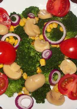 Овощной салат...Радуга