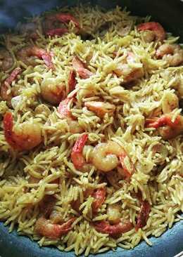 Индийский басмати с креветками в карри #кулинарныймарафон