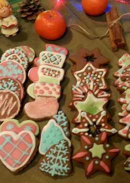 Новогоднее, Рождественское, Праздничное -Имбирное печенье