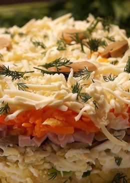 Самый вкусный салат понравится всем и украсит любой праздничный стол