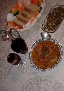 Суп харчо - грузинская кухня #чемпионатмира #россия