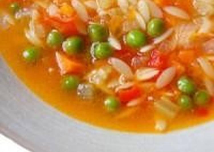 Рисовый суп с индюшкой