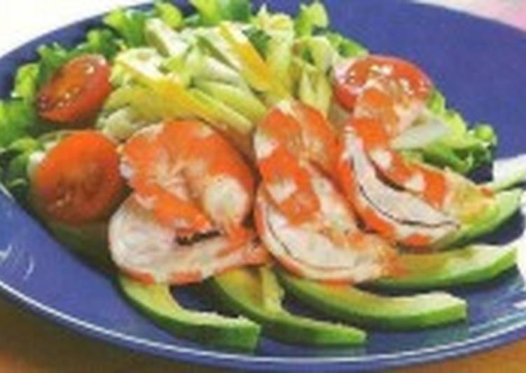 Летний салат «Сибарит»