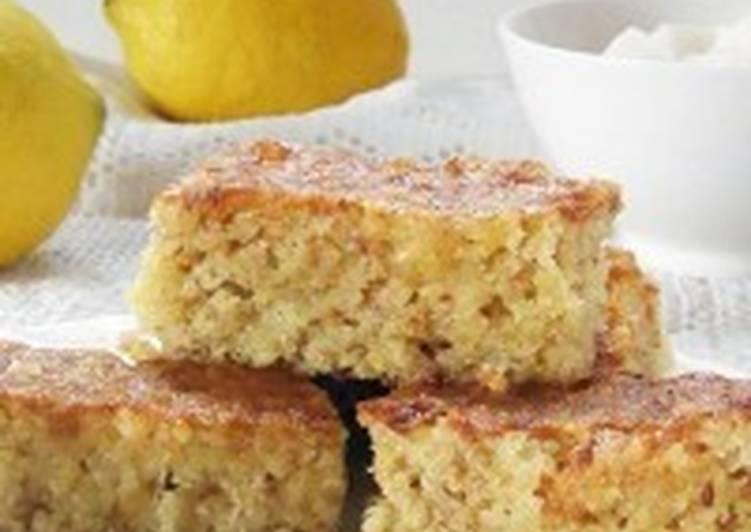 Пирог с изюмом и лимоном