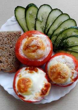 Французская яичница в помидоре #чемпионатмира #франция