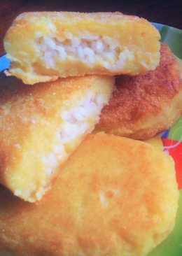 Картофельные зразы с рисом без глютена