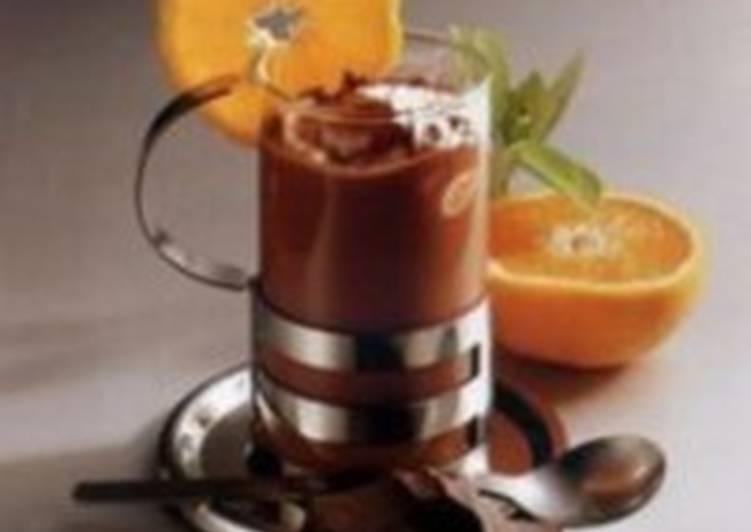 Горячий шоколад «Апельсиновый»