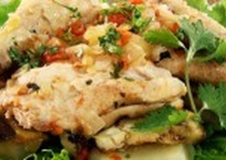 Курица с баклажанами и помидорами
