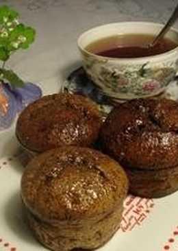 Маковые маффины без муки с лавандовым мороженым - рецепт