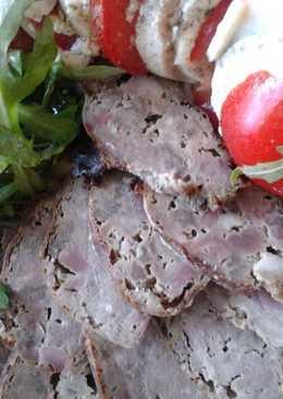 Домашняя колбаса из субпродуктов