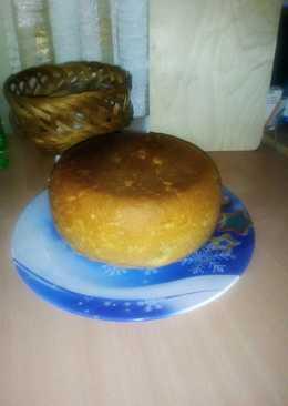 Пшенично-кукурузный хлеб в мультиварке