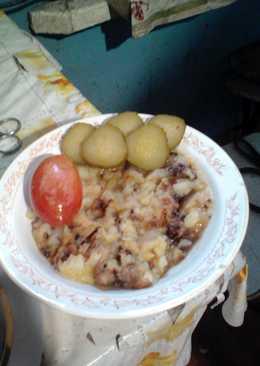 Картофельное пюре по-белорусски
